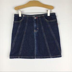 Girls Kids Tommy HIlfiger Denim Jeans Skirt SZ 10